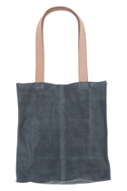Suede Leather Tote