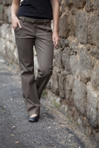 New York Stretch Pant W Belt