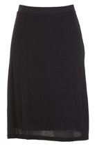 A-Line Exposed Zip Skirt