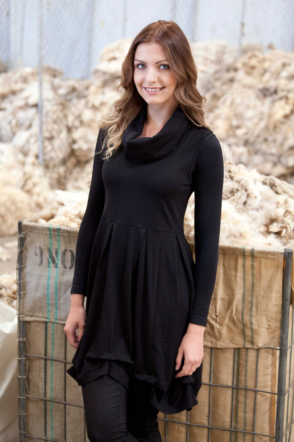 Merino Essentials Merino Sleeveless Tunic