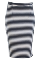 Nautical Striped Skirt