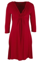 St Tropez 3/4 Slv Dress