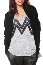 Sass Bleeker Street Fleece Cardi