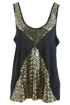 Splice Sequin Tank