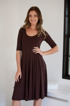 Hull 1/2 Sleeve Dress
