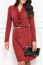 Fonda 3/4 Sleeve Dress