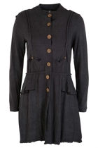 Military Frill Soy Coat