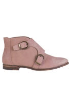 Muppet Leather Ankle Boot
