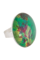 Blooms In Watercolour Ring