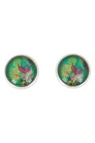 Blooms In Watercolour Stud Earrings