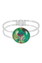 Blooms In Watercolour Cuff Bangle