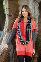 Cotton Cocoon Tunic