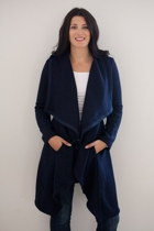 Drapey Cardigan Coat