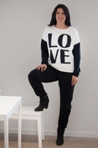Love Me Crew Jumper