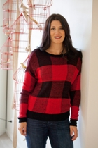 All About Eve Tartan Love Knit
