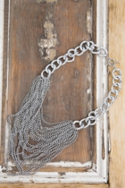 Multi Strand Chunky Necklace