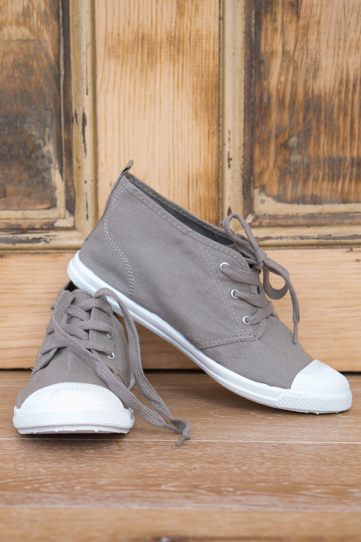 Walnut Midtop Sneaker