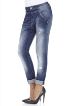 Leona Drop Crotch Boyfriend Jean