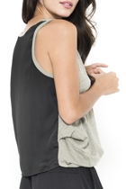 Braque Contrast Back Tank