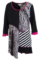 Clarity By Threadz Animal Instinct Tunic