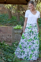 Maxi skirt in apple small2