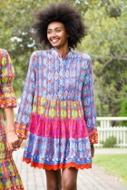 Cyprus Patch Tunic Dress