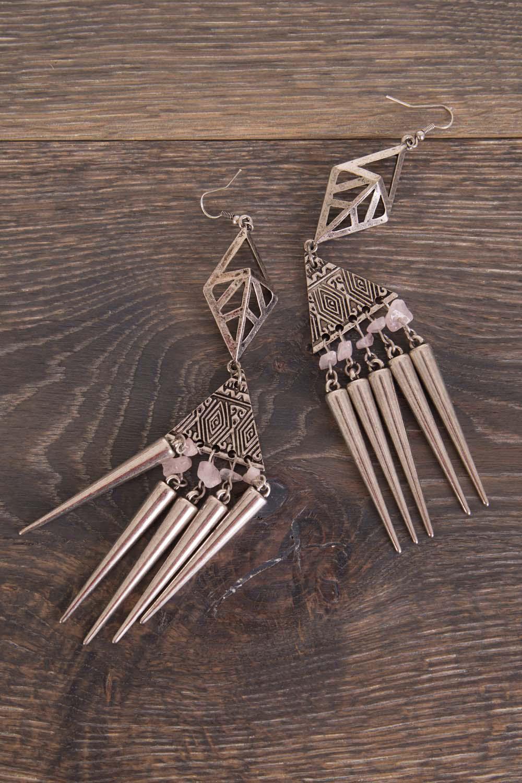 Adorne Tribal Spike Earring