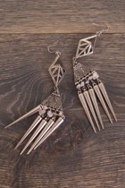 Adorne Tribal Spike Earring