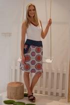 Rosanna Reversible Skirt Long