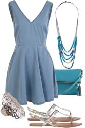 Blue Dress Baby