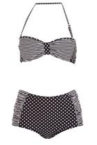 Bell bikiniset  blkwhtsrip3 small2