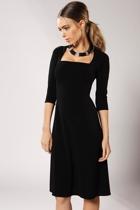 Olivia 3 4 sleeve dress small2