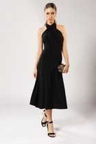 Ultimate black dress  cross over  small2
