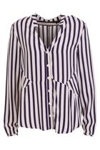 Wish skyline blouse  navy stripe3 small2