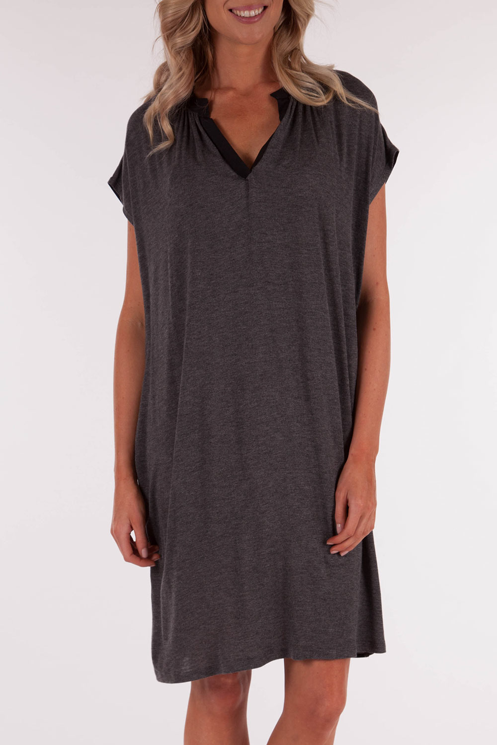 Metalicus Mana Contrast Tunic Dress
