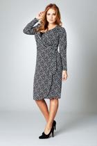 Belle Wrap Jersey Dress