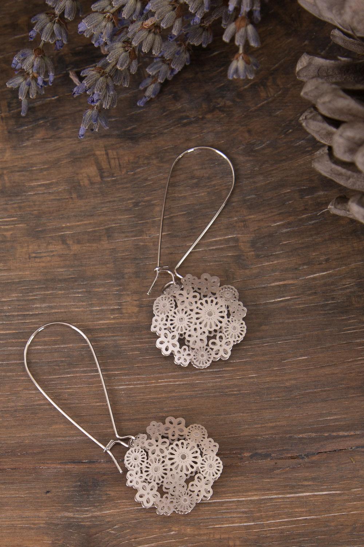 Bec Stern Floral Laser Cut Earrings