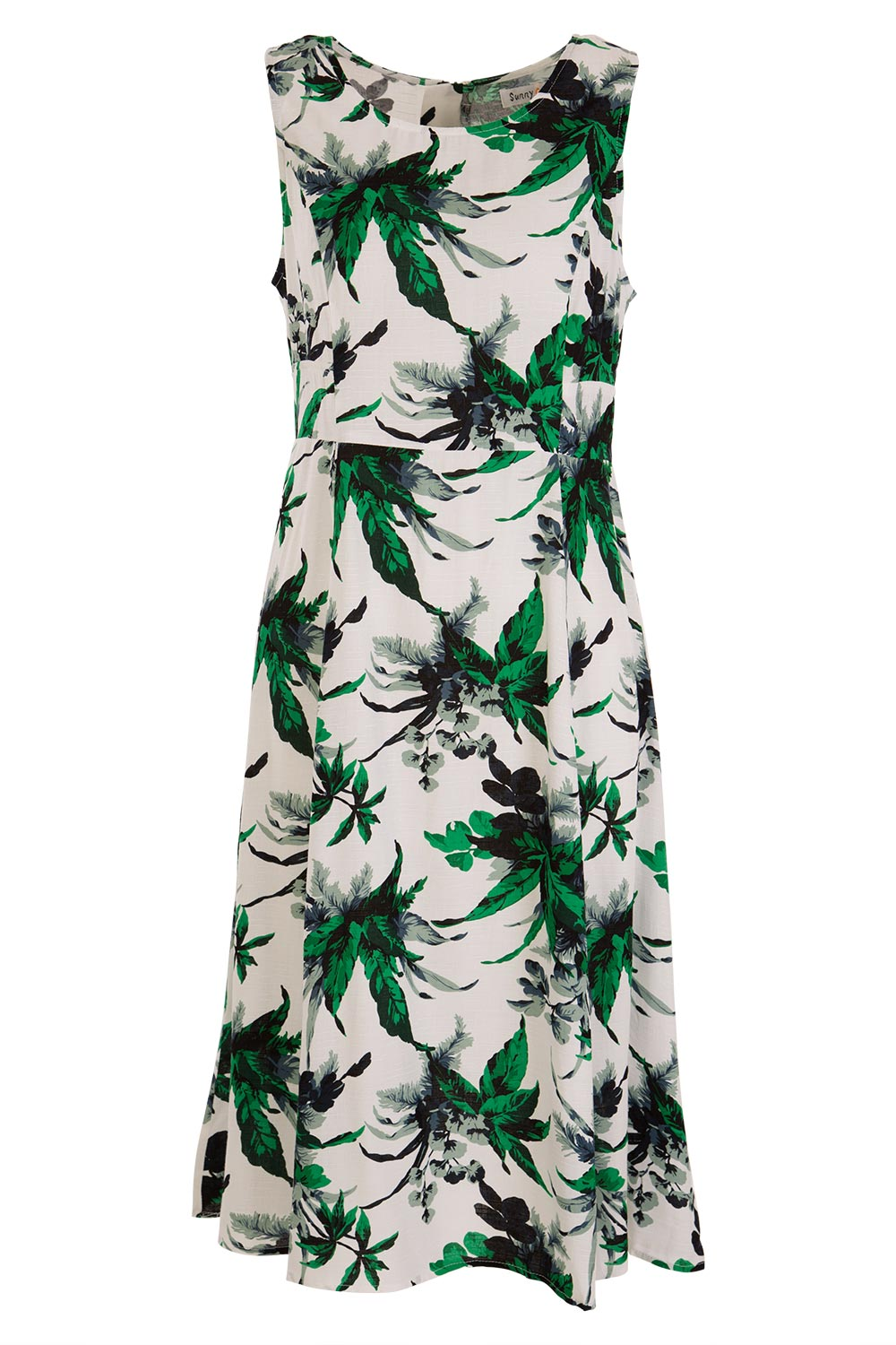 Botanical Dress AUD 35.00 AT vintagedancer.com