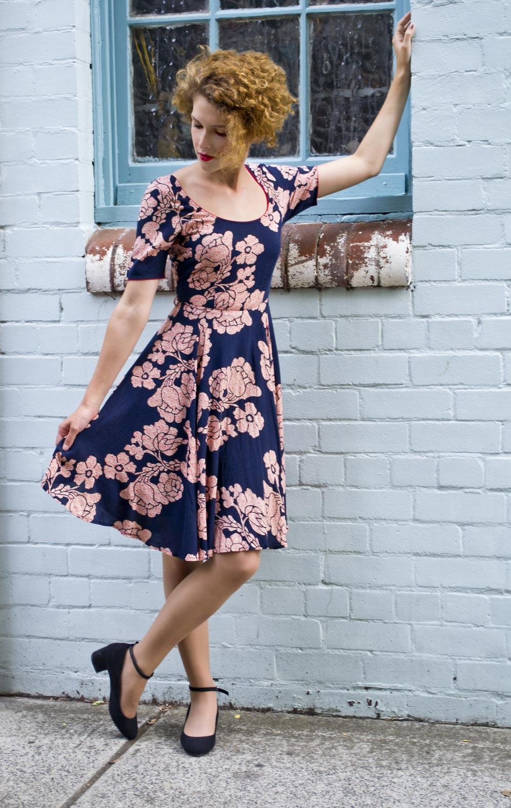 Elise Lena Floral Dress