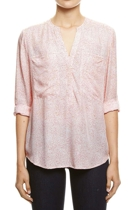 Jww156034 texture spot shirt  blood orange  1  small2