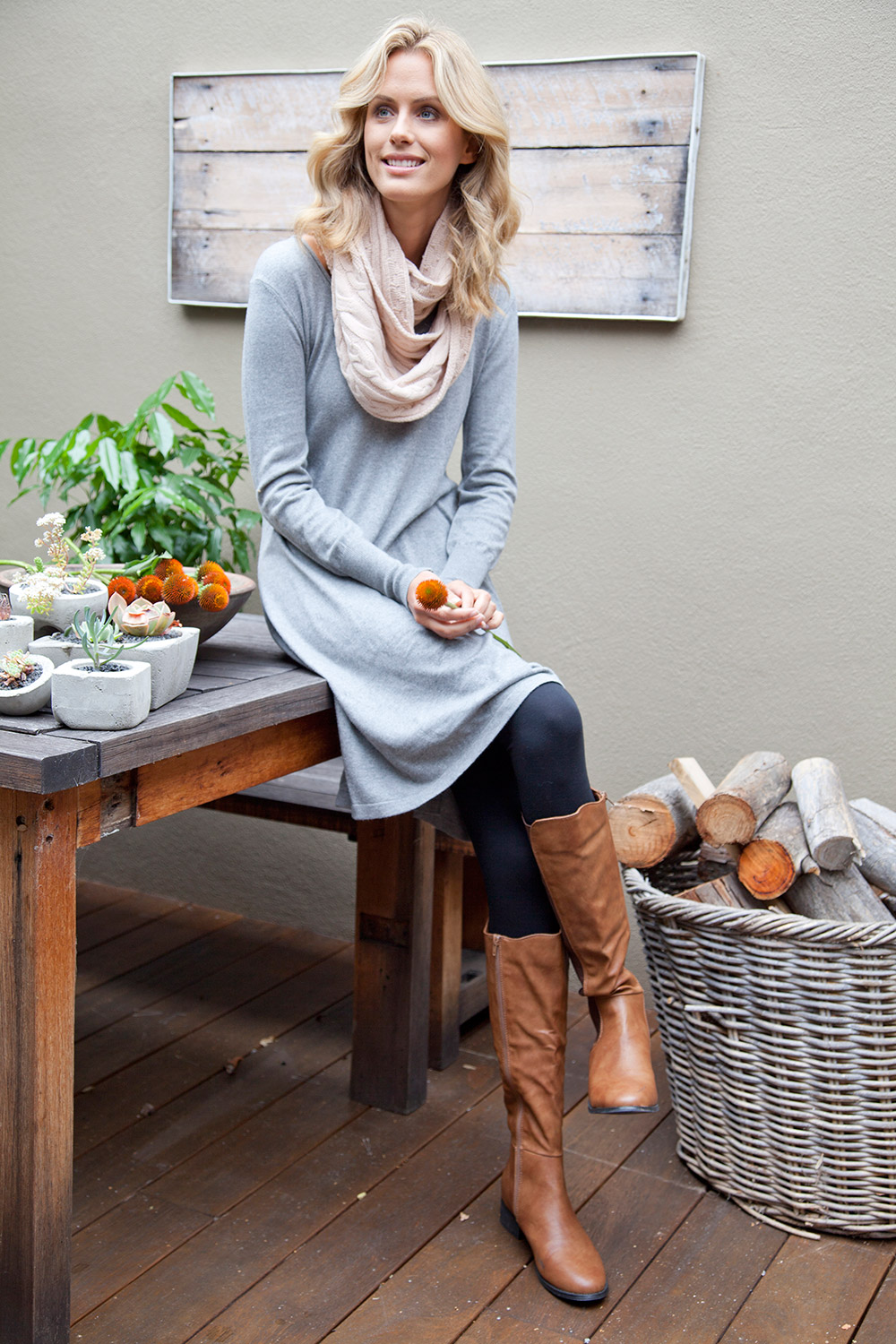 The Cool Comfort Knit Dress