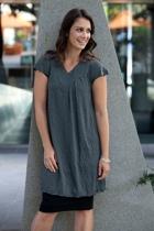 Vig dress grey small2