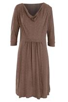 Brown dress small2