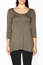 3 4 sleeve top model stone small2