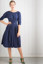Olivia dress in ink small2