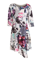 Cooper st bewilderness long sleeve dress  print small2