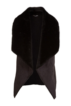Cooper st head rush shearling vest black small2