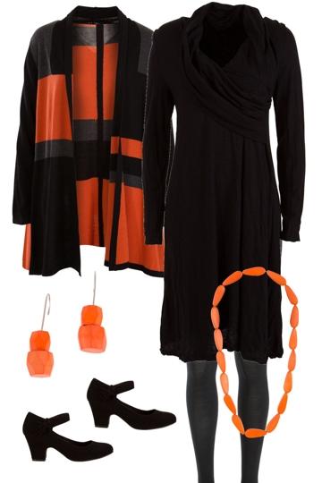 Mondrian Orange