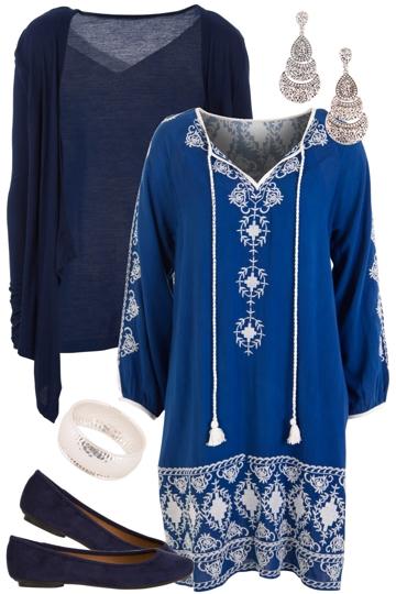 Blue Boho Beauty