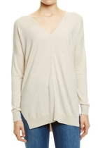Jws158071 deep v knit  oatmeal melange  1  small2